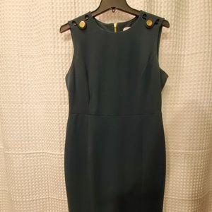 Calvin Klein hunter green dress